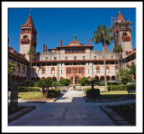 Flagler College Courtyard Entrance