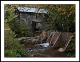Howards Creek Mill/late day