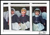 Moravian Doll Choir, Old Salem Shop Window