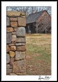 Rock Wall and Barn