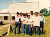 The UNHCR office and staff 1985