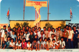 Vietnamese Boy Scouts meeting in the camp 30/4/1985