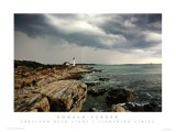 65LIGHTNING STRIKE AT PORTLAND HEAD LIGHT POSTER... SEE THEM ALL AT....
