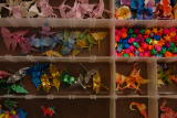 these are the peace cranes i brought for the children of Pohnpei, Micronesia... .see...