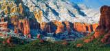 Sedona Red Rock Snow #2    -   1998