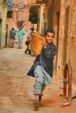 Picture shy, a boy in ghardaia,algeria