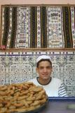 mahmoud a very plaisent young man.sweet shop