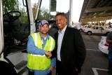 Mayor Kevin Johnson and DGS Picnic