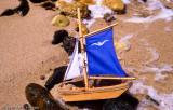 Miniature shipwreck