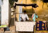Roadside ironing service