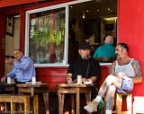 Café culture at Bar Coluzzi
