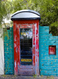 Come in via my phone box