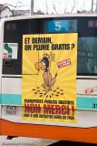No free public transport