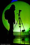 Green photographer