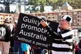 Arts Freedom Australia rally