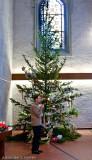 The pastor & the Christmas tree