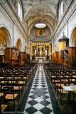 Interior of L'eglise Notre Dame de Pitie et Saint Elizabeth