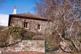 Genthod house near the vineyard