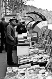 Books sellers along the River Rhone