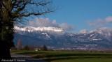 Looking towards the Jura mountains
