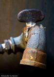 Rusty tap