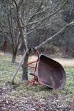 Wheel barrow resting
