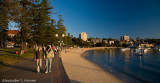 Late afternoon at Manly