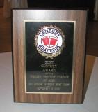 CENTURY CLUB AWARD - 1969 17' Century no name David Wesp