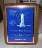 Buffalo Launch Club - Commodore's Award ----->