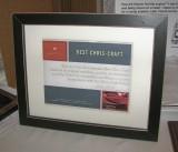 BEST CHRIS-CRAFT AWARD ----->