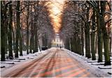 Hamdreef Winter Sunset