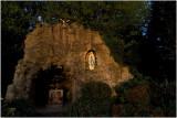 De grot van Onze Lieve Vrouw van Lourdes