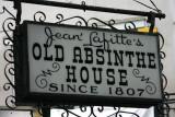 Jean Lafitte's Old Absinthe House - New Orleans, LA