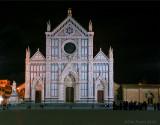 40990B-Santa Croce Cathedral - Florence, Italy