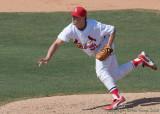 40d-1485c - Cardinals pitcher, Mark Worrell
