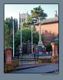 The War Memorial Woodbridge Suffolk