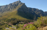 Looking at Table Mountain Cape Town