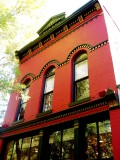 Aspen the Latta Building (the Red Onion) built in 1892