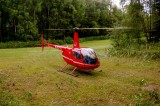 R44 in the back yard