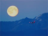 Take Flight Alaska Cessna 172 with the Full Moon at MRI