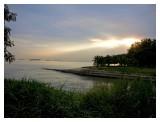 Sunset near Changi beach