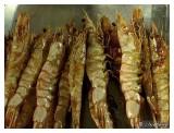 Juicy BBQ deep sea prawn