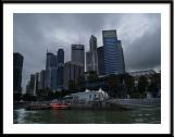 Singapore Business District Skyline