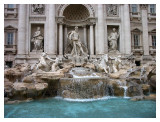 The Trevi Fountain, the one and only one fountain of Rome