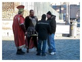 Roman soldiers cater for tourist