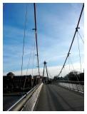 One of the many bridges of Frankfurt