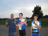 B Race Champs John Jackson, Chris Mooney, & Andrew Loguidice