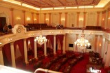 The Senate chambers from the gallery