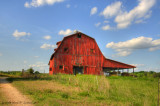 Another One Of The Red Barn