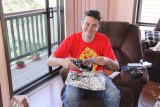 Keith gets a radio controlled helicopter